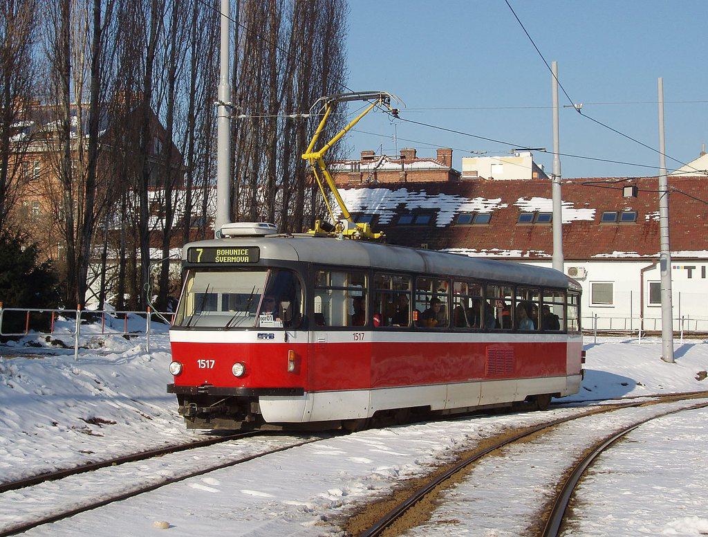 Fotogalerie » Pragoimex T3R.PV 1517 | Brno | Štýřice | Vídeňská
