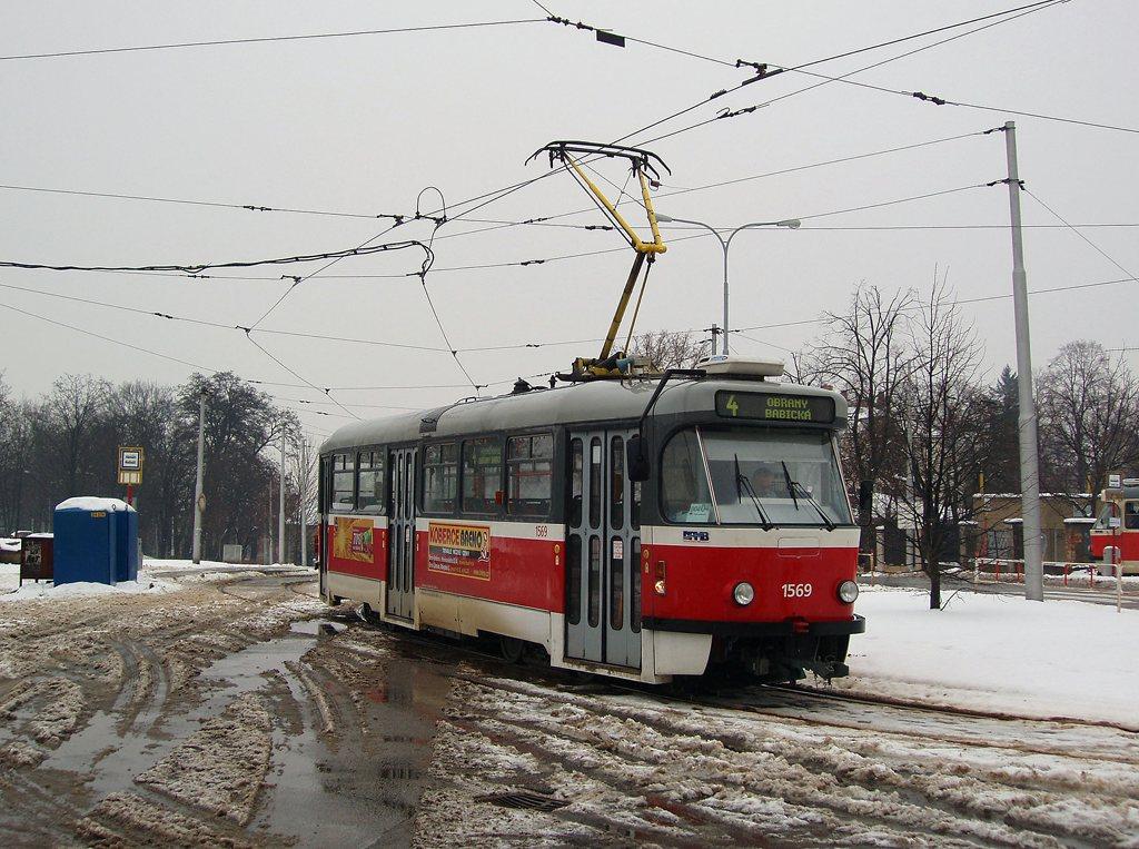 Fotogalerie » Pragoimex T3R.EV 1569 | Brno | Masarykova čtvrť | Náměstí míru | Náměstí Míru, smyčka