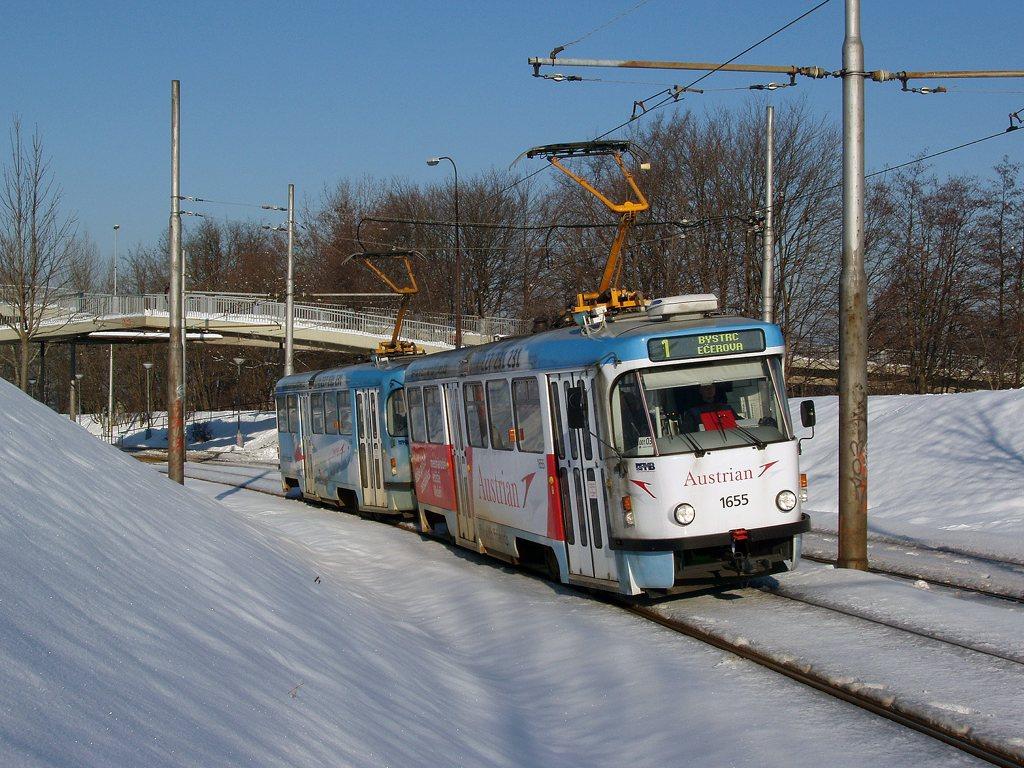Fotogalerie » Pragoimex T3R.PV 1655 | Pragoimex T3R.PV 1656 | Brno | Bystrc