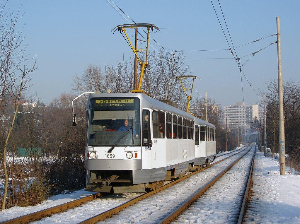Fotogalerie » ČKD DS T3R 1659 | ČKD DS T3R 1660 | Brno | Žabovřesky