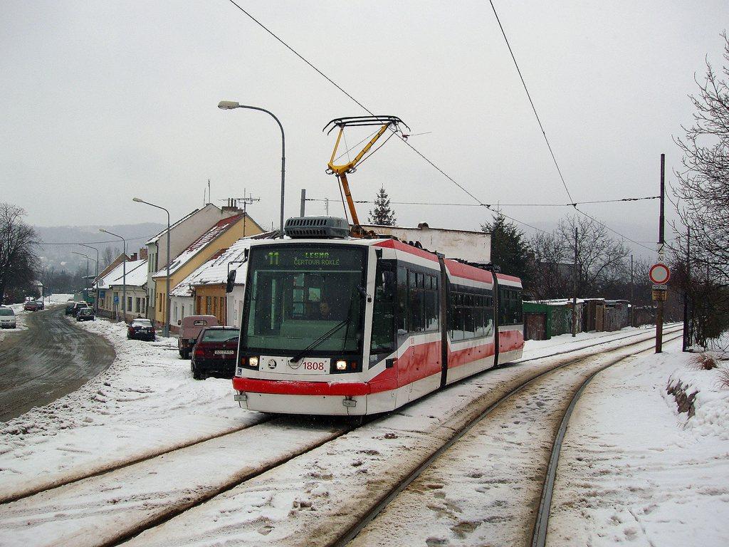 Fotogalerie » Škoda 03T6 1808   Brno   Žabovřesky   Sochorova