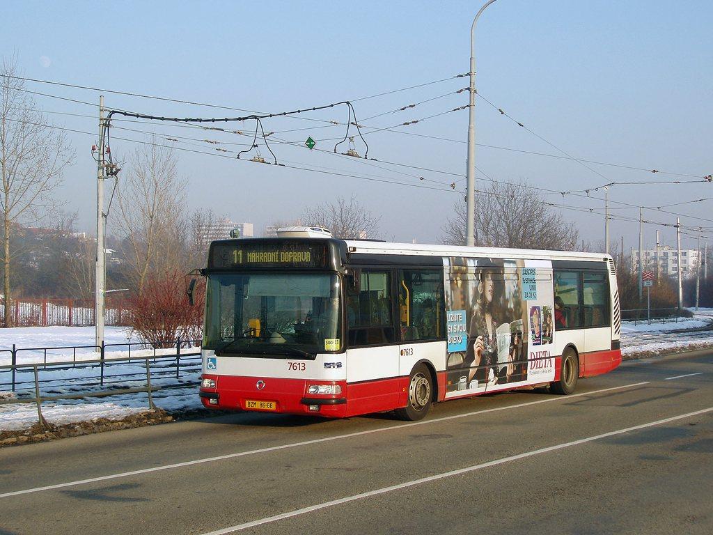 Fotogalerie » Irisbus Citybus 12M 2071.30 7613 | Brno | Žabovřesky | Kníničská