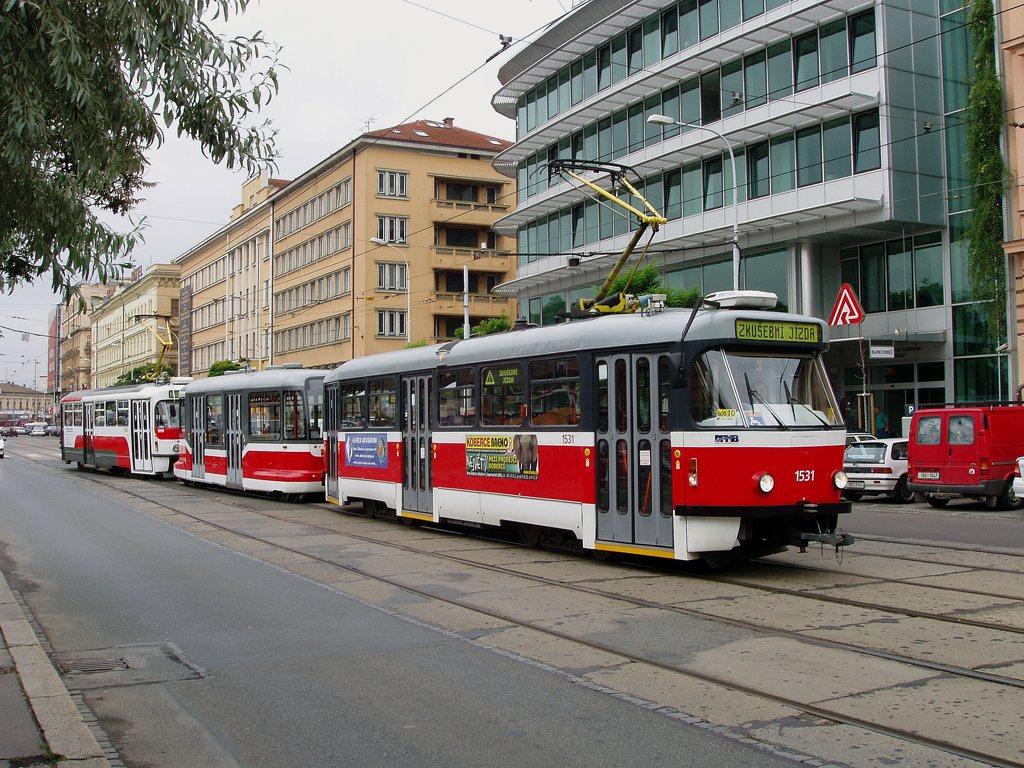Fotogalerie » Pragoimex T3R.EV 1531   Pragoimex VV60LF 1301   Pragoimex T3R.EV 1560   Brno   střed   Benešova