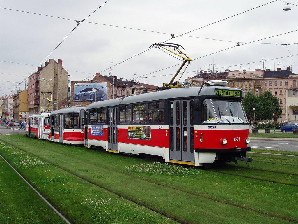Fotogalerie » Pragoimex T3R.EV 1531 | Pragoimex VV60LF 1301 | Pragoimex T3R.EV 1560 | Brno | střed | Nové sady