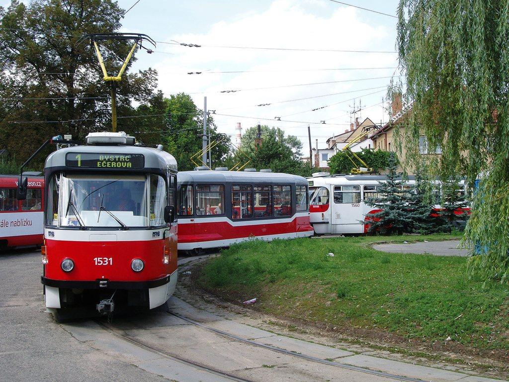 Fotogalerie » Pragoimex T3R.EV 1531 | Pragoimex VV60LF 1301 | Pragoimex T3R.EV 1560 | Brno | Řečkovice | Terezy Novákové | Řečkovice, smyčka