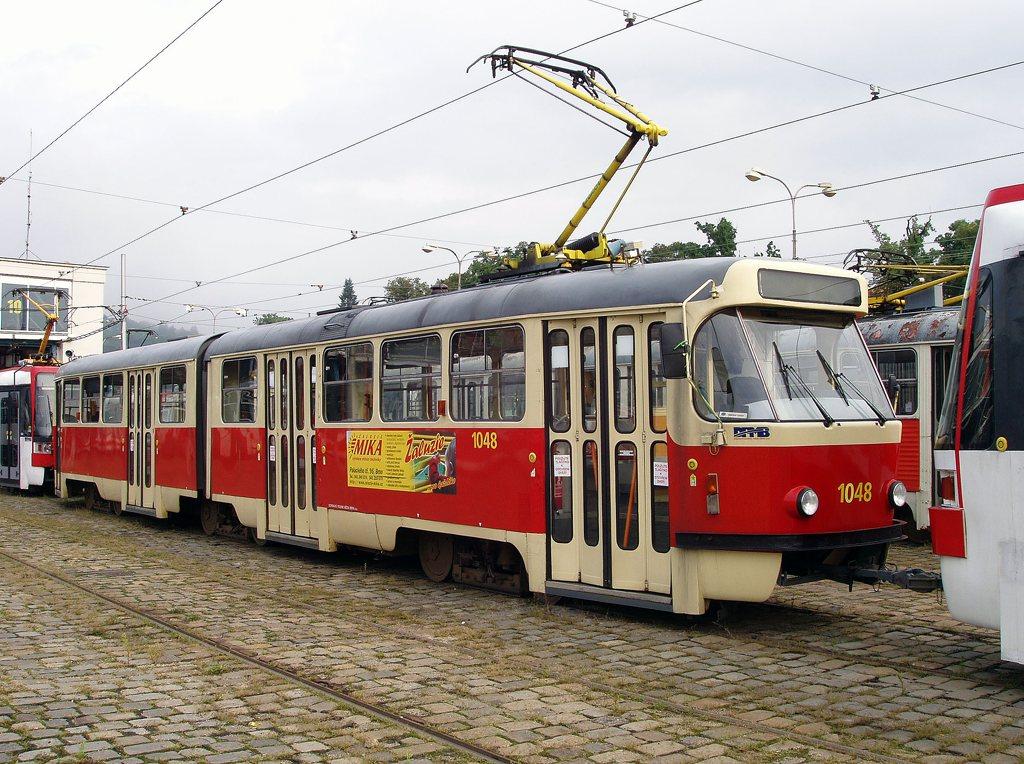 Fotogalerie » ČKD Tatra K2P 1048 | Brno | vozovna Pisárky