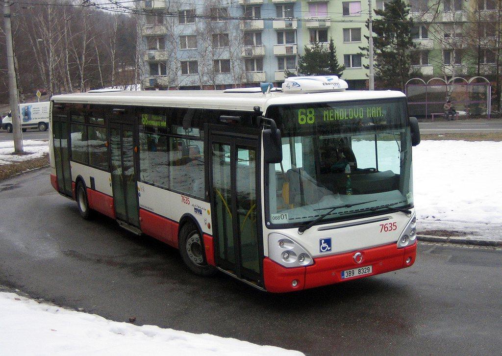 Fotogalerie » Irisbus Citelis 12M 7635 | Brno | Kohoutovice | Žebětínská