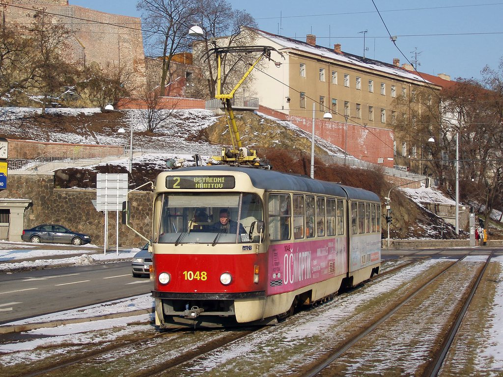 Fotogalerie » ČKD Tatra K2P 1048 | Brno | střed | Nové sady