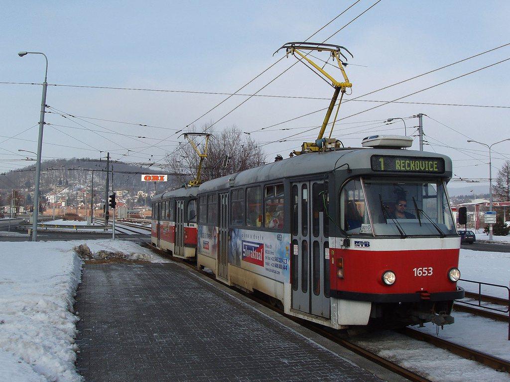 Fotogalerie » Pragoimex T3R.PV 1653 | Pragoimex T3R.PV 1654 | Brno | Komín | Kníničská | Kamenolom