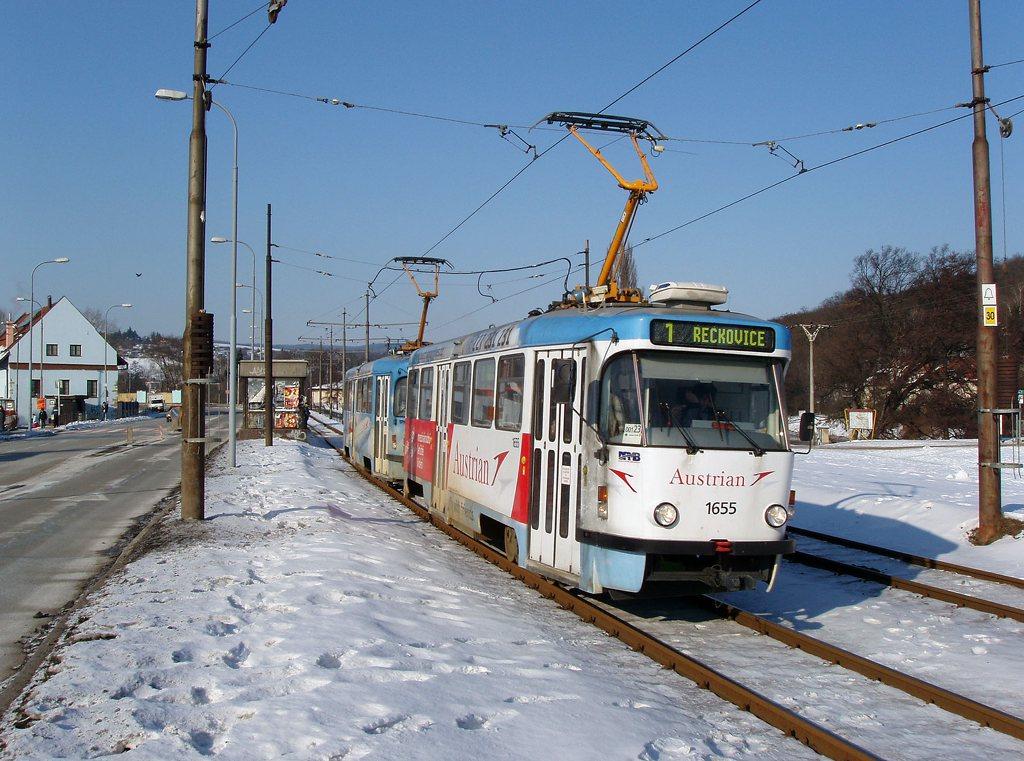 Fotogalerie » Pragoimex T3R.PV 1655 | Pragoimex T3R.PV 1656 | Brno | Bystrc | Obvodová