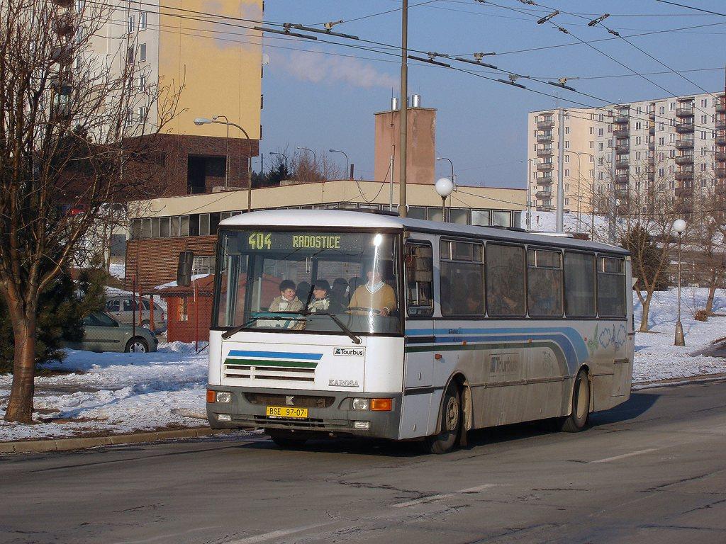 Fotogalerie » Karosa C934 BSE 97-07 | Brno | Starý Lískovec | Osová