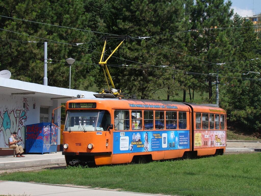 Fotogalerie » ČKD Tatra K2P 1118 | Brno | Lesná | Lesná, Čertova rokle