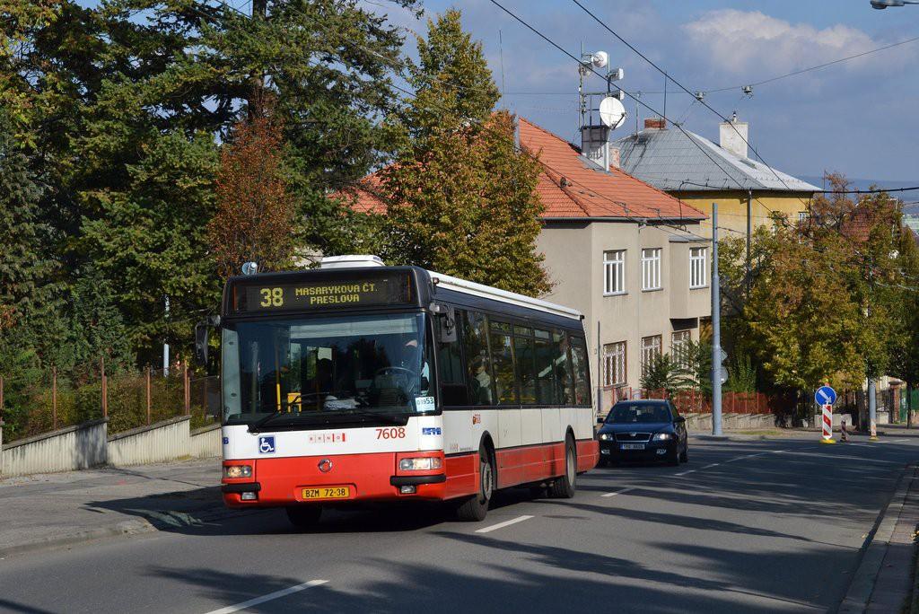 Fotogalerie » Irisbus Citybus 12M 2071.20 BZM 72-38 7608 | Brno | střed | Tvrdého