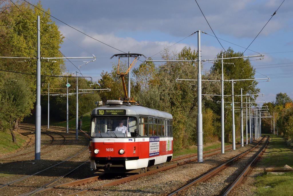 Fotogalerie » Pragoimex T3R.PV 1658 | Brno | Juliánov | Ostravská