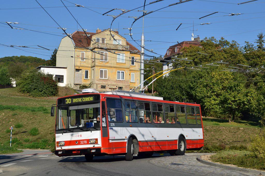 Fotogalerie » Škoda 14Tr17/6M 3278 | Brno | Komín | Hlavní
