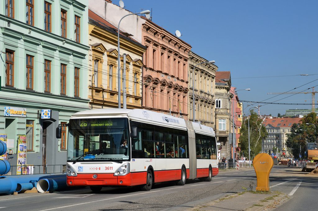 Fotogalerie » Škoda 25Tr Citelis 1B 3611 | Brno | střed | Pionýrská