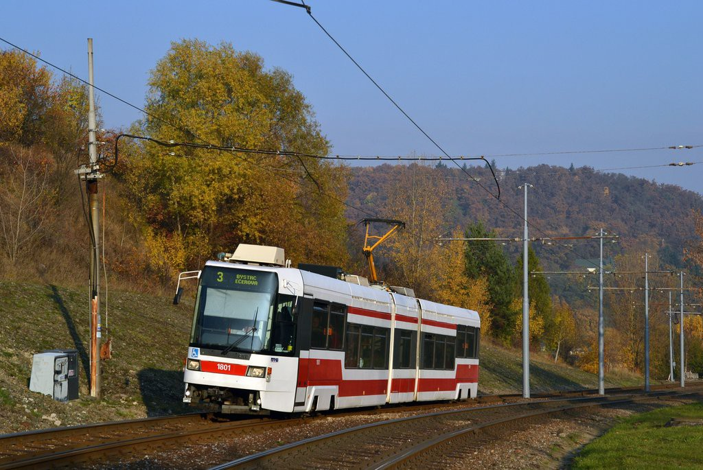 Fotogalerie » ČKD DS RT6N1 1801 | Brno | Bystrc