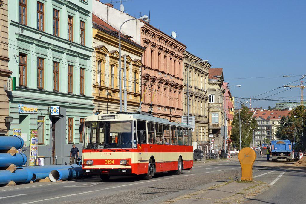 Fotogalerie » Škoda 14Tr07 3194 | Brno | střed | Pionýrská