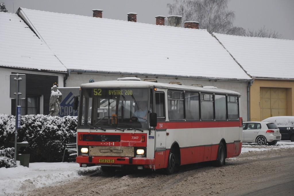 Fotogalerie » Karosa B732.1654 BSB 24-85 7347 | Brno | Žebětín | Kohoutovická | Helenčina