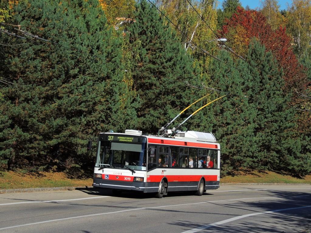 Fotogalerie » Škoda 21Tr 3019 | Brno | Kohoutovice | Libušino údolí