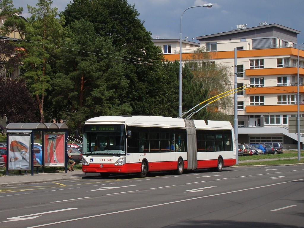 Fotogalerie » Škoda 25Tr Citelis 1B 3612 | Brno | Černá Pole | Provazníkova | Merhautova