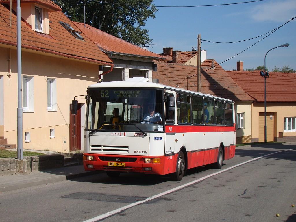 Fotogalerie » Karosa B931E.1707 BSE 94-74 7459 | Brno | Žebětín | Dlážděná