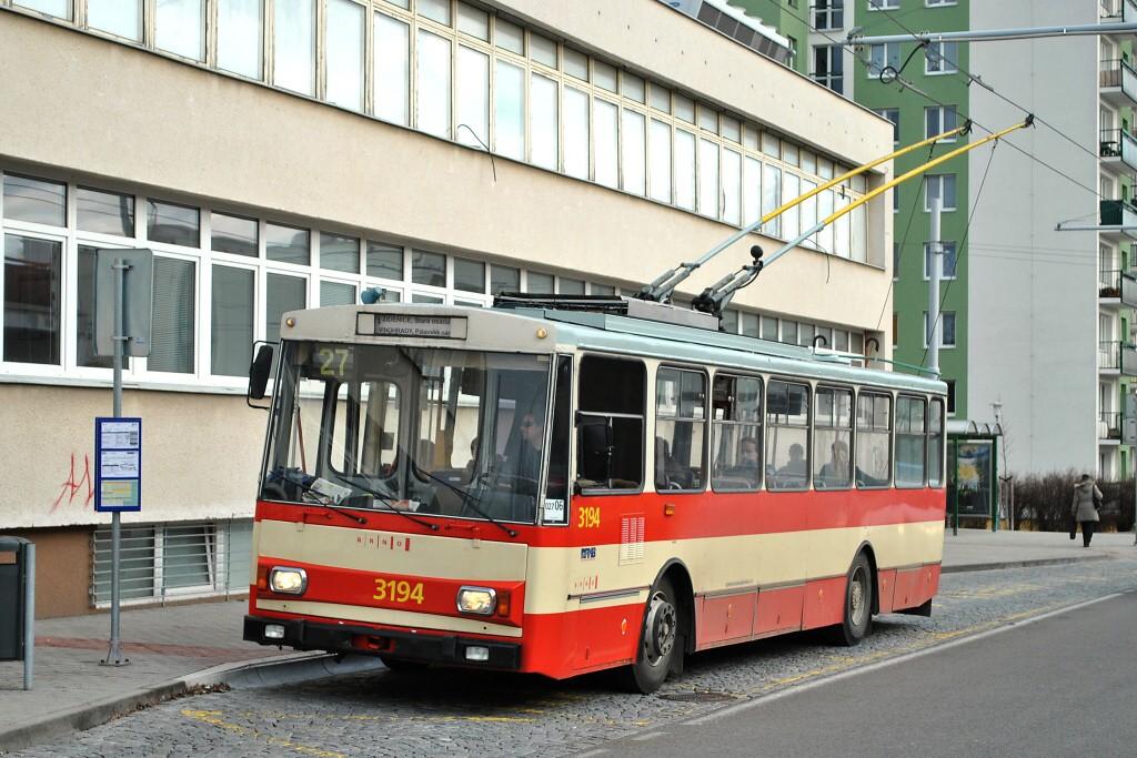 Fotogalerie » Škoda 14Tr07 3194 | Brno | Vinohrady | Pálavské náměstí | Bzenecká