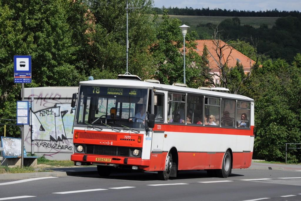 Fotogalerie » Karosa B732.40 BSB 62-30 7273 | Brno | Líšeň | Mifkova | Mifkova