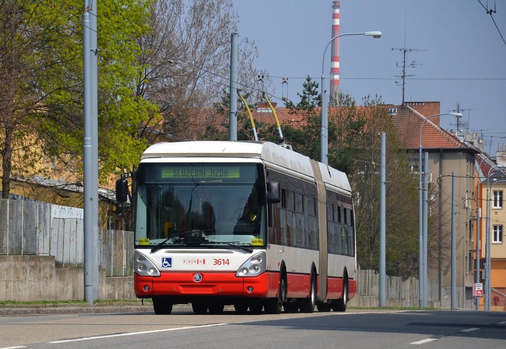 Fotogalerie » Škoda 25Tr Citelis 1B 3614 | Brno | Černá Pole | Provazníkova