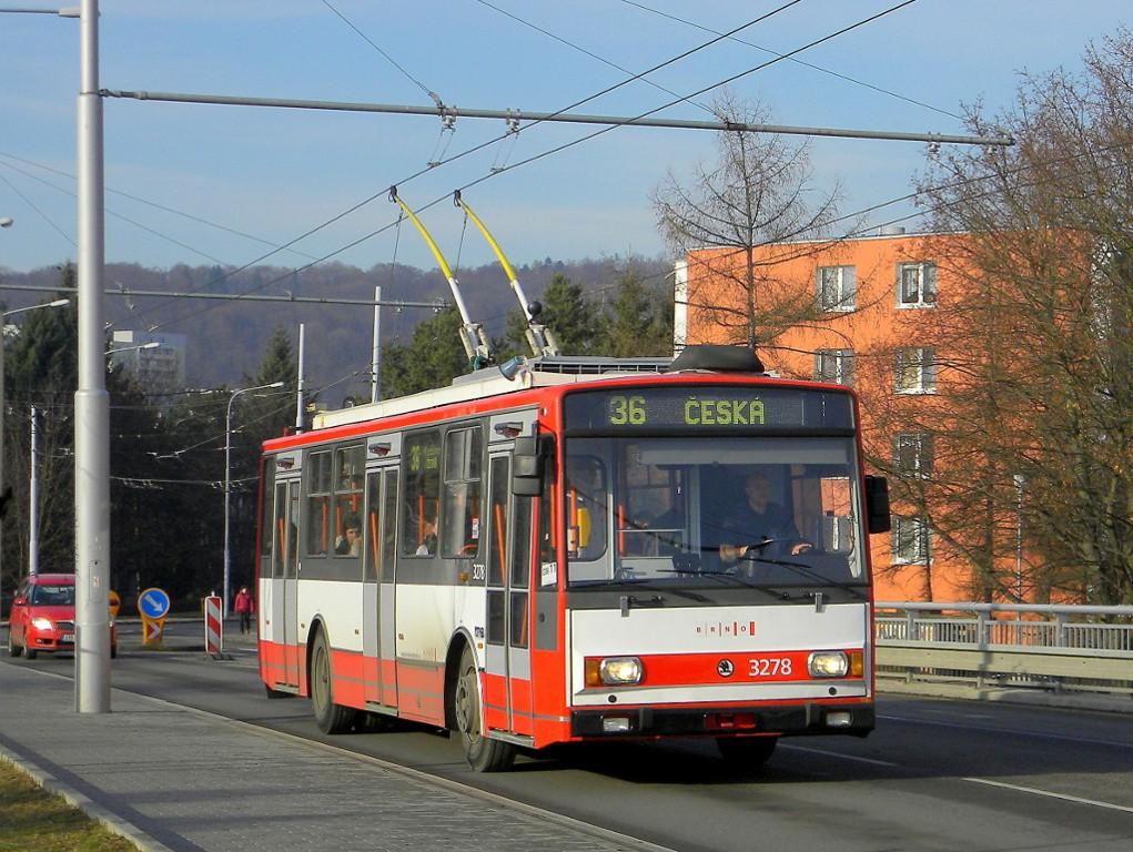Fotogalerie » Škoda 14TrR 3278 | Brno | Žabovřesky | Korejská