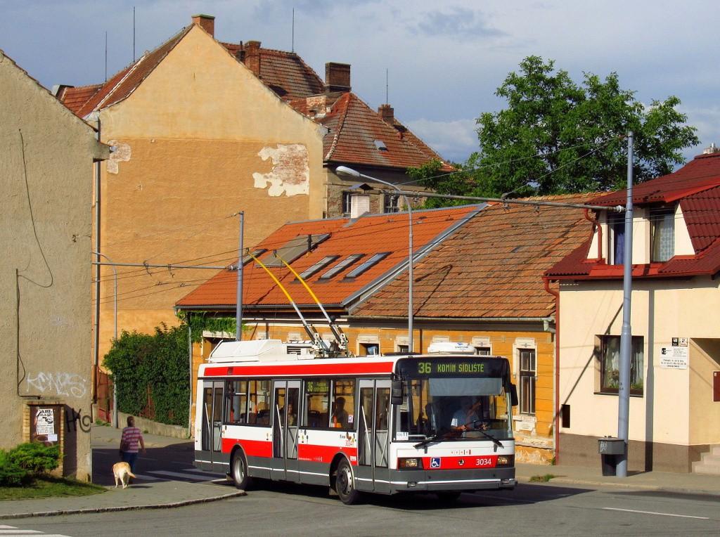 Fotogalerie » Škoda 21Tr 3034 | Brno | Komín | Chaloupky