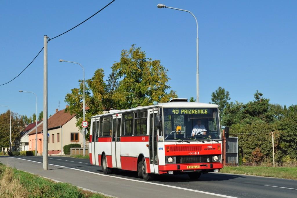 Fotogalerie » Karosa B732.40 BSB 62-30 7273 | Brno | Dolní Heršpice | Havránkova