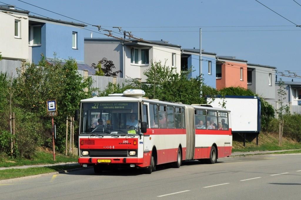 Fotogalerie » Karosa B741.1924 BSC 62-07 2312 | Brno | Vinohrady | Věstonická | Mutěnická