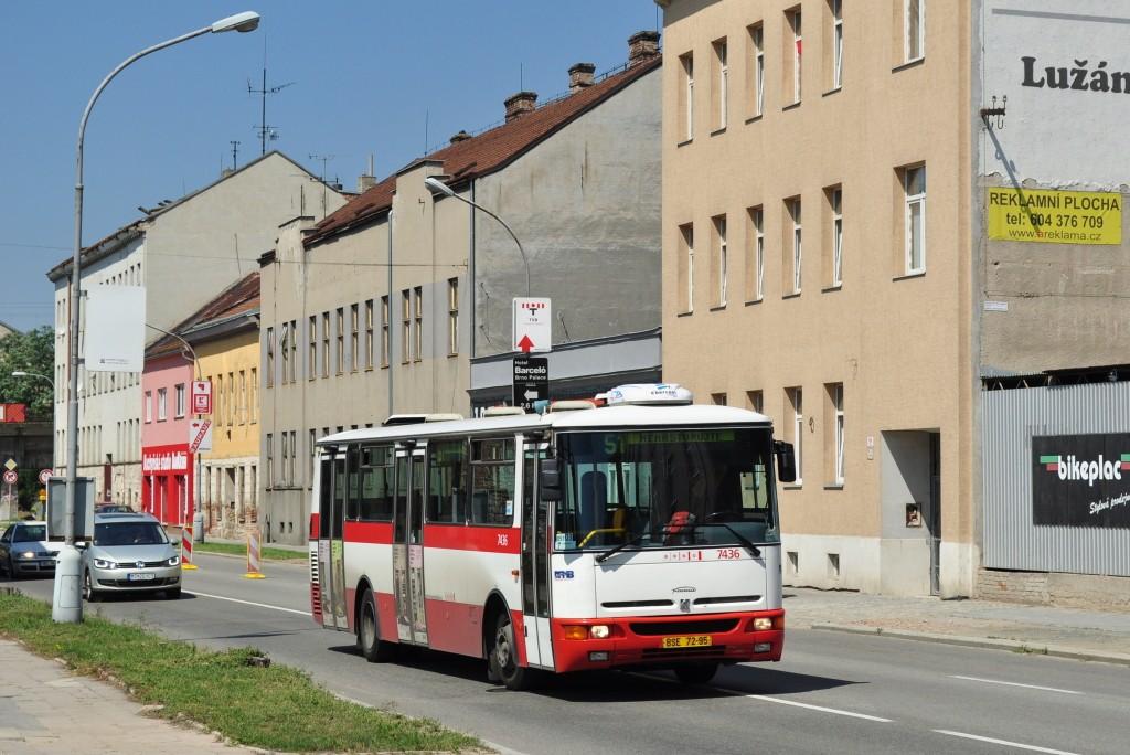 Fotogalerie » Karosa B931.1675 BSE 72-95 7436   Brno   Trnitá   Plotní