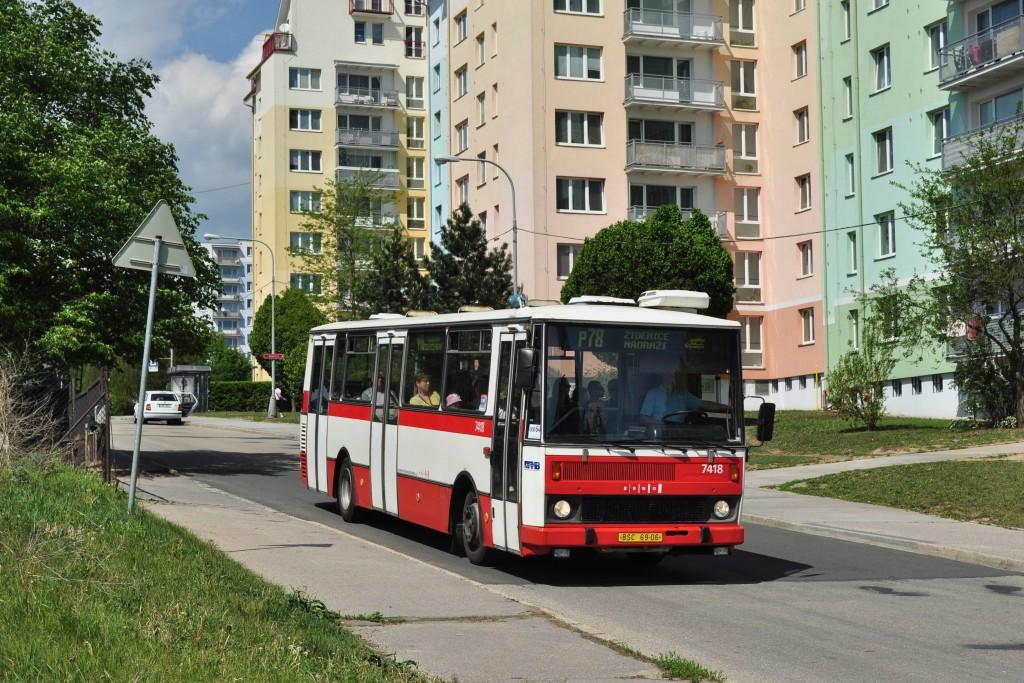 Fotogalerie » Karosa B731.1669 BSC 69-06 7418 | Brno | Líšeň | Houbalova