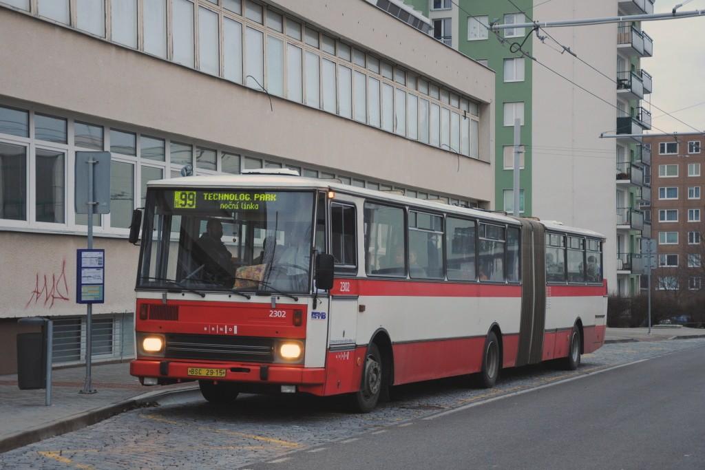 Fotogalerie » Karosa B741.1916 BSC 29-15 2302 | Brno | Vinohrady | Pálavské náměstí | Bzenecká