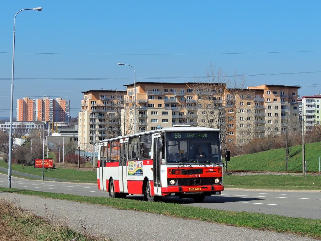 Fotogalerie » Karosa B732.40 BSB 62-30 7273 | Brno | Líšeň | Novolíšeňská