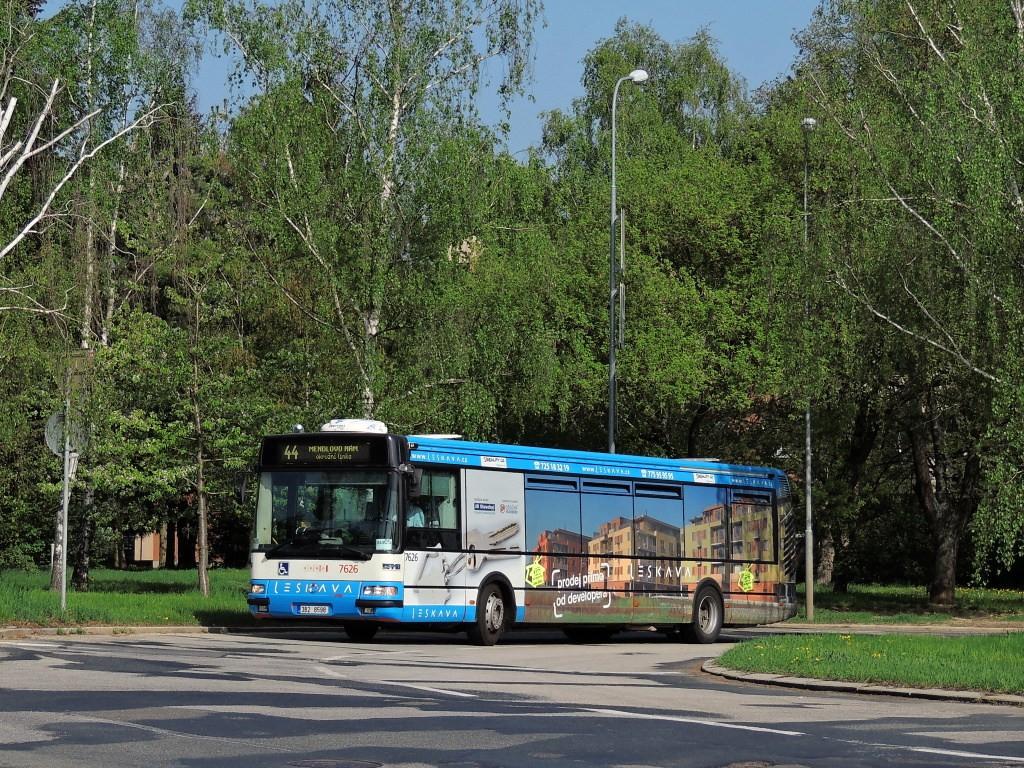 Fotogalerie » Irisbus Citybus 12M 2071.40 3B2 8598 7626 | Brno | Lesná | Okružní