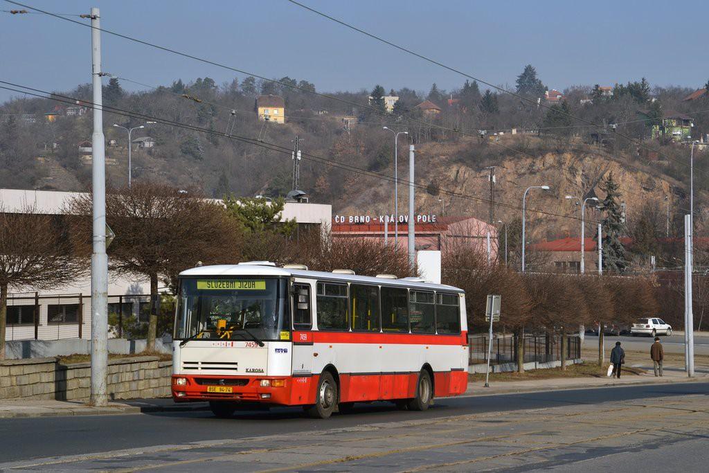 Fotogalerie » Karosa B931E.1707 BSE 94-74 7459 | Brno | Královo Pole | Kosmova