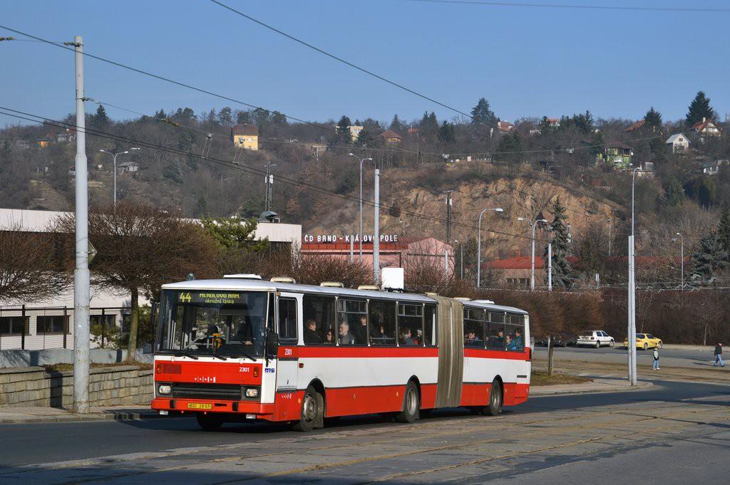 Fotogalerie » Karosa B741.1916 BSC 28-97 2301 | Brno | Královo Pole | Kosmova
