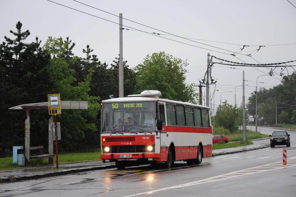 Fotogalerie » Karosa B731.1669 6B6 6826 7414   Brno   Kohoutovice   Libušina třída   Jírovcova