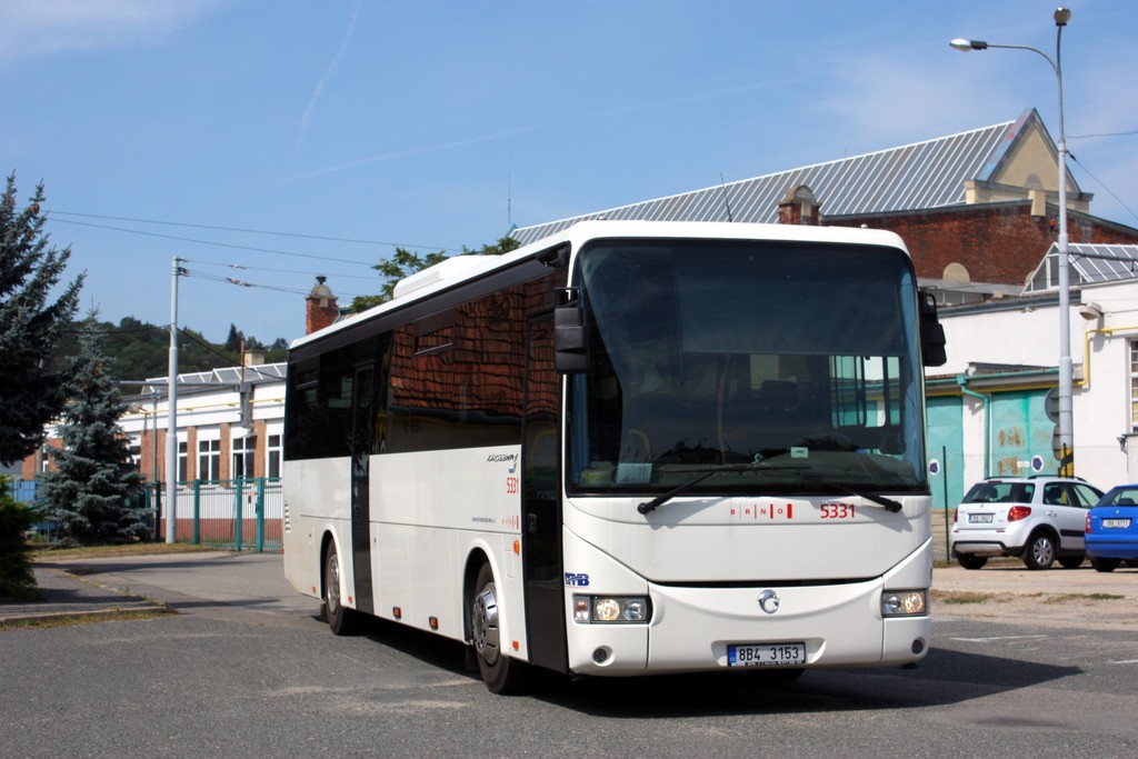 Fotogalerie » Irisbus Crossway 12M 8B4 3153 5331   Brno   vozovna Pisárky
