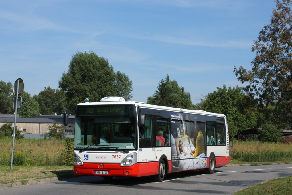 Fotogalerie » Irisbus Citelis 12M 3B9 8344 7637 | Brno | Horní Heršpice | Kšírova