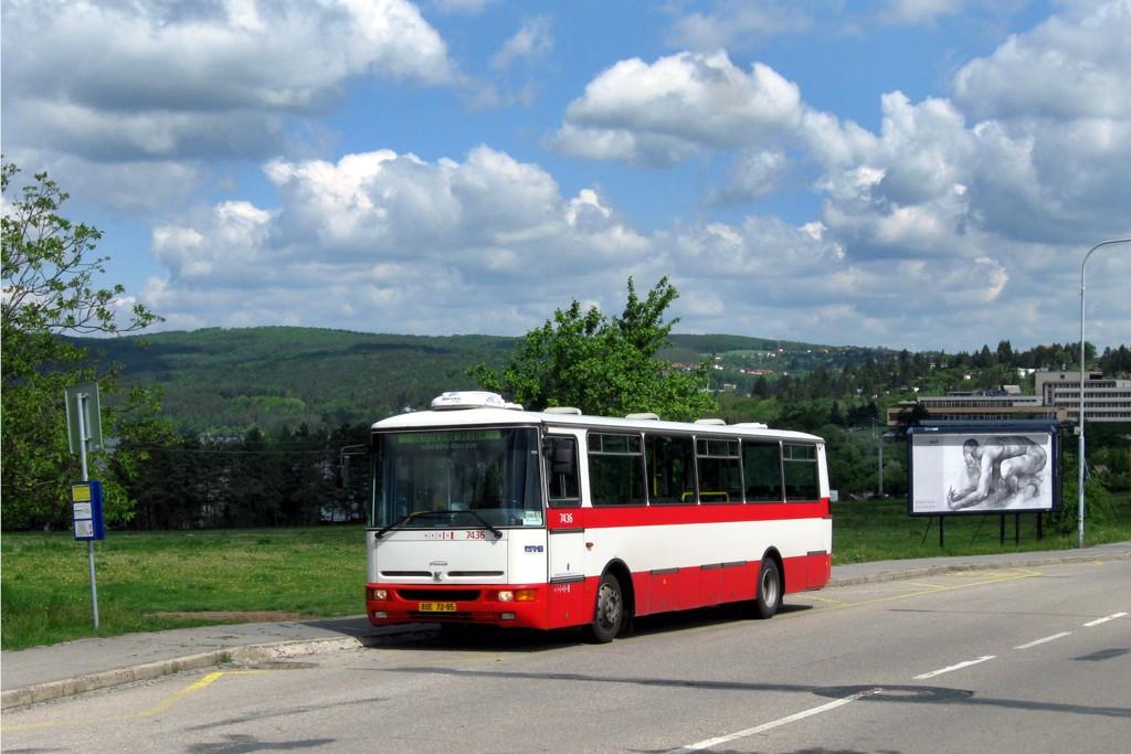 Fotogalerie » Karosa B931.1675 BSE 72-95 7436 | Brno | Bystrc | Rakovecká | Rakovecká