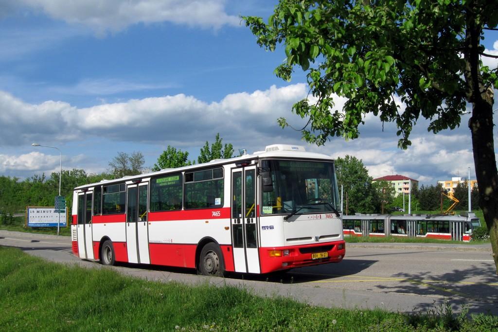 Fotogalerie » Karosa B931E.1707 BSH 16-27 7465 | Brno | Bystrc | Rakovecká | Rakovecká