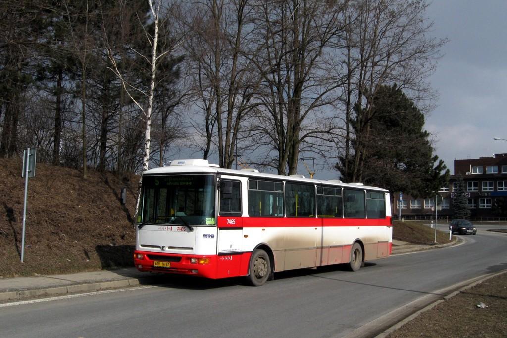 Fotogalerie » Karosa B931E.1707 BSH 16-27 7465 | Brno | Horní Heršpice | Vídeňská | Ústřední hřbitov, smyčka ND