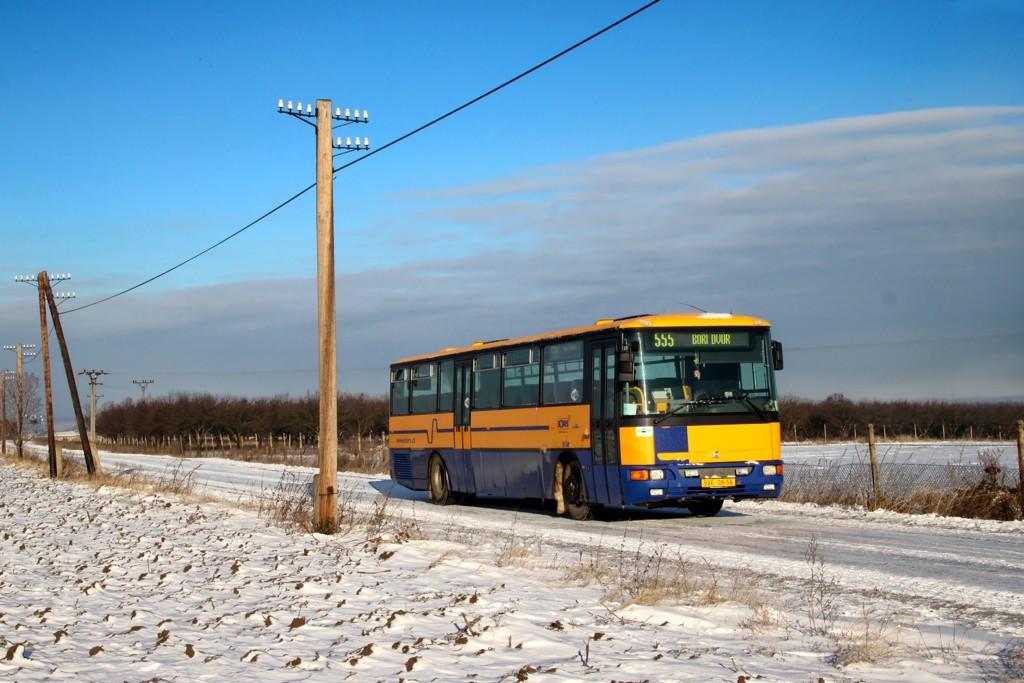 Fotogalerie » Karosa C954.1360 BVK 08-58   Valtice   Boří Dvůr   cesta na Boří Dvůr