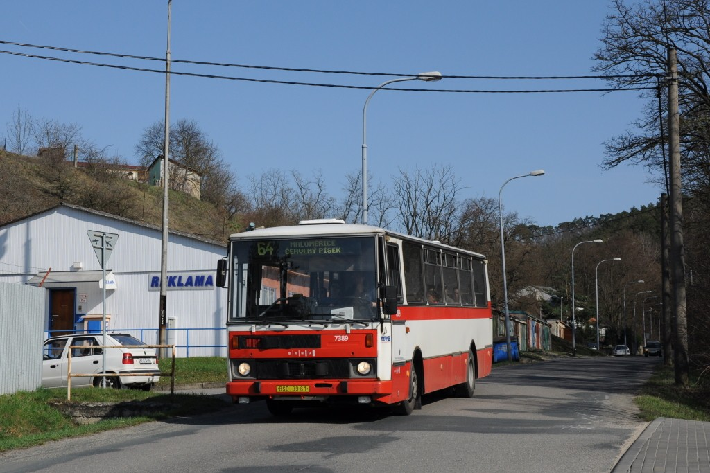 Fotogalerie » Karosa B732.1654.3 BSC 39-61 7389 | Brno | Maloměřice | Zimní