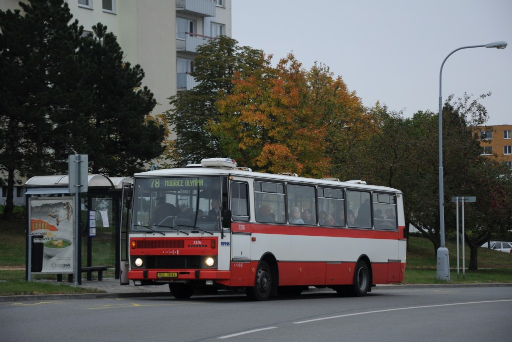 Fotogalerie » Karosa B732.1654.3 BSC 38-64 7376   Brno   Líšeň   Podruhova   Horníkova