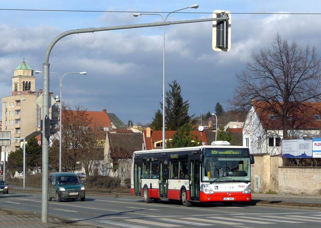 Fotogalerie » Irisbus Citelis 12M 4B4 0362 7644   Brno   Židenice   Gajdošova